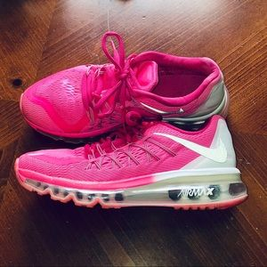Pink 3M Nike Airmax Shoes